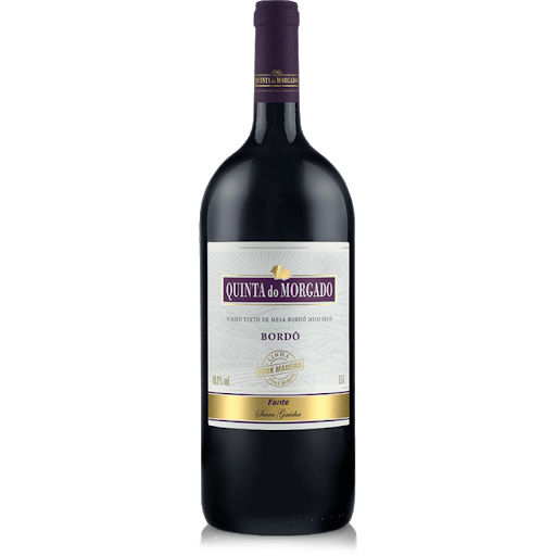 Vinho Quinta Do Morgado Bordo Meio Seco 1,5L