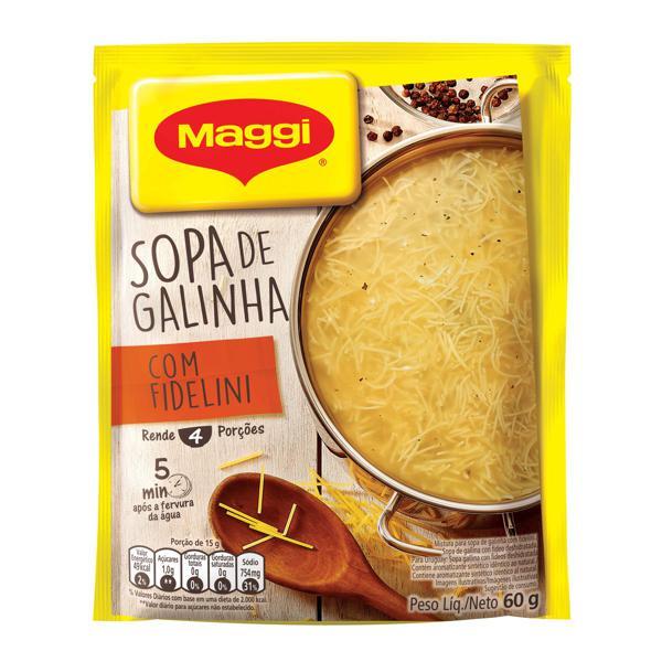 Sopa de Galinha MAGGI Fideline 60g