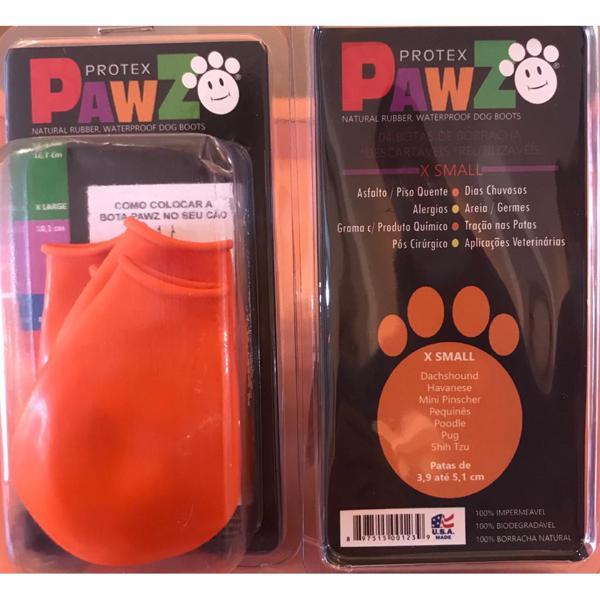 Pawz Botas Para Cachorros Xsmall 4 Unidades