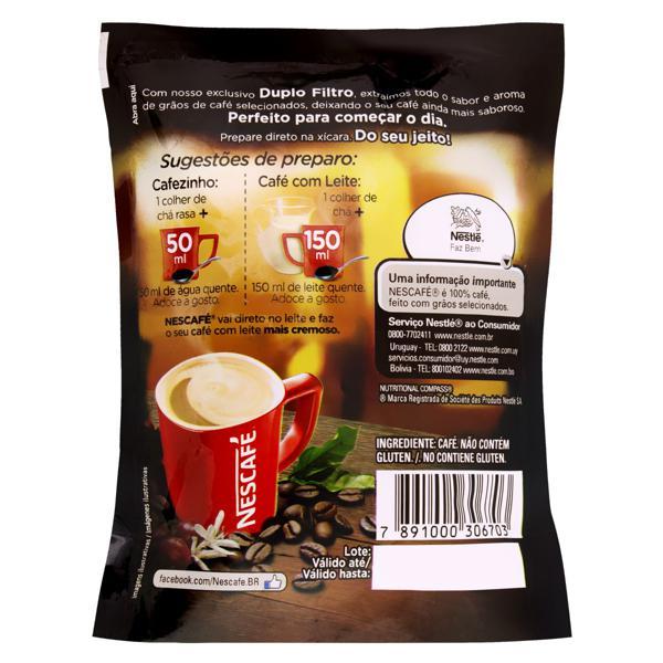 Café Solúvel Granulado Extraforte Nescafé Original Sachê 50g