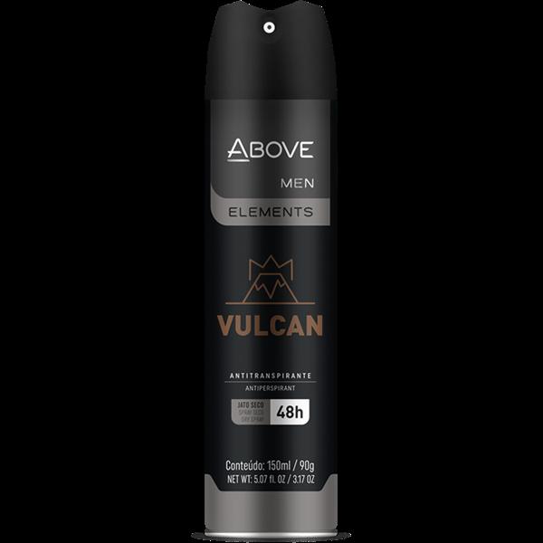 Desodorante Aerosol ABOVE Elements Vulcan 150ml