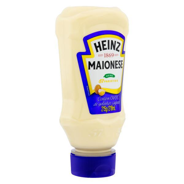 Maionese Heinz Squeeze 215g