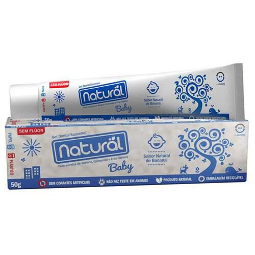 Creme dental baby 50g - Natural
