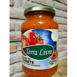 Molho de tomate orgânico - 580g