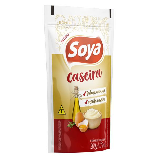 Maionese Caseira Soya Sachê 200g