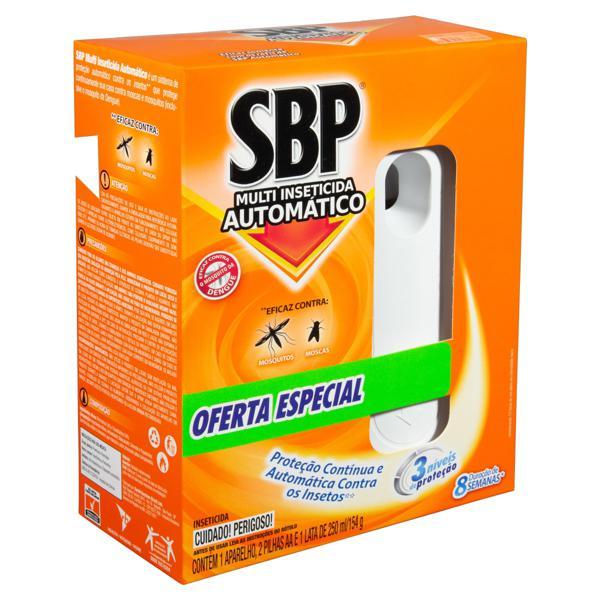 Multi-Inseticida Automático SBP Caixa 250ml