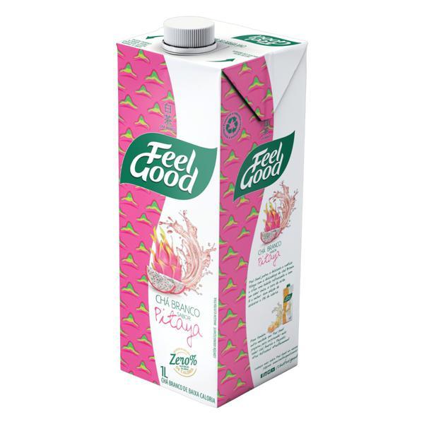 Chá Branco Pitaya Feel Good Caixa 1l