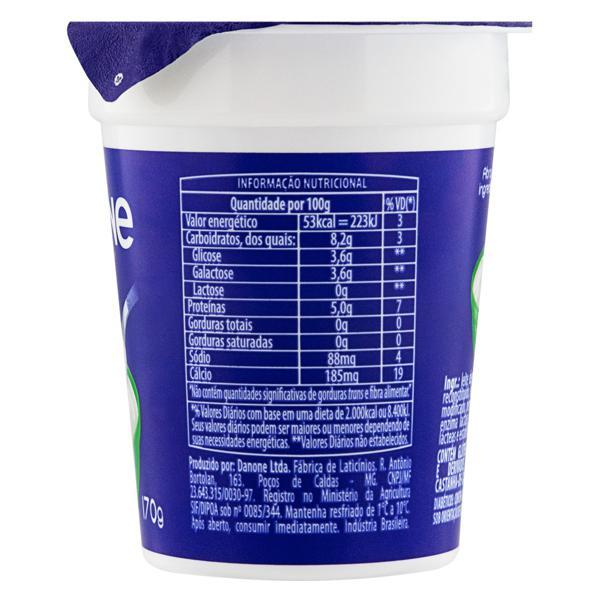 Iogurte Desnatado Zero Lactose Danone Pote 170g