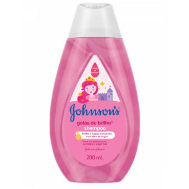 Shampoo Infantil JOHNSON´S Baby Gotas de Brilho 200ml