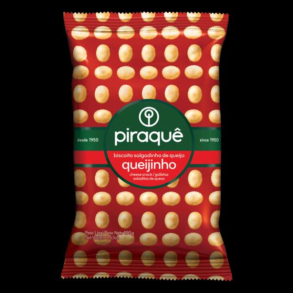 Biscoito Salgadinho Piraquê Sabor Queijo 100g