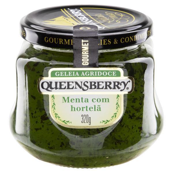 Geleia Agridoce Menta com Hortelã Queensberry Gourmet Vidro 320g