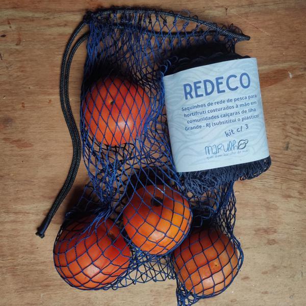 REDECO - saco de rede para carregar legumes ou o que quiser