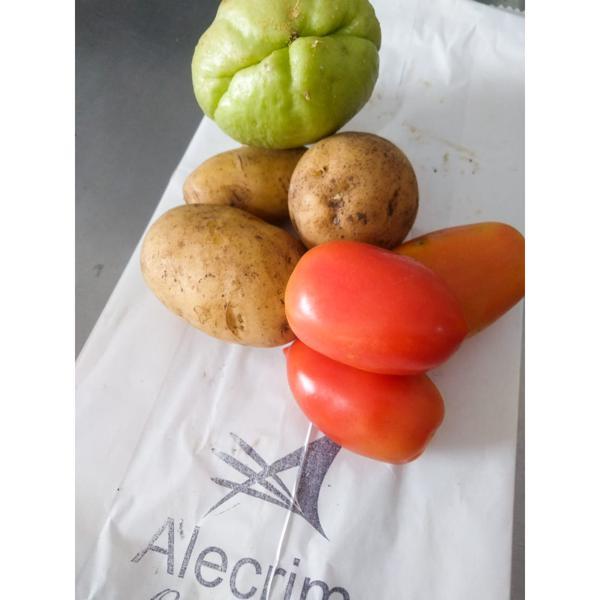 Mix batata, tomate e chuchu - 300g cada