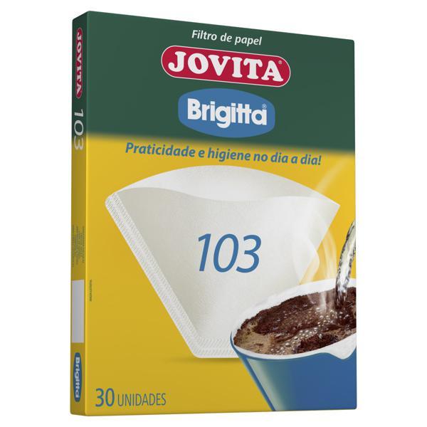 Filtro de Papel Brigitta Jovita 103 Caixa 30 Unidades