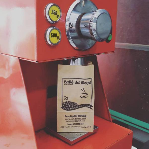 Café da Roça moído no dia 500g
