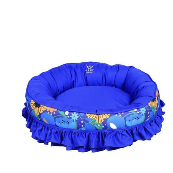 Cama Fofinha WOOF CLASSIC My Garden - Euro Azul