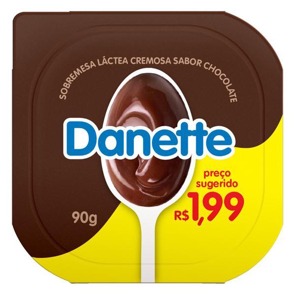 Sobremesa Láctea Chocolate Danette Pote 90g