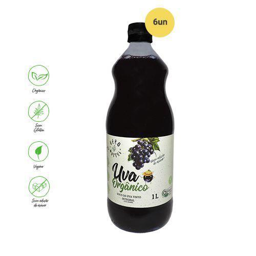 Suco de Uva Tinto Orgânico VERRO NUTTRI 1L