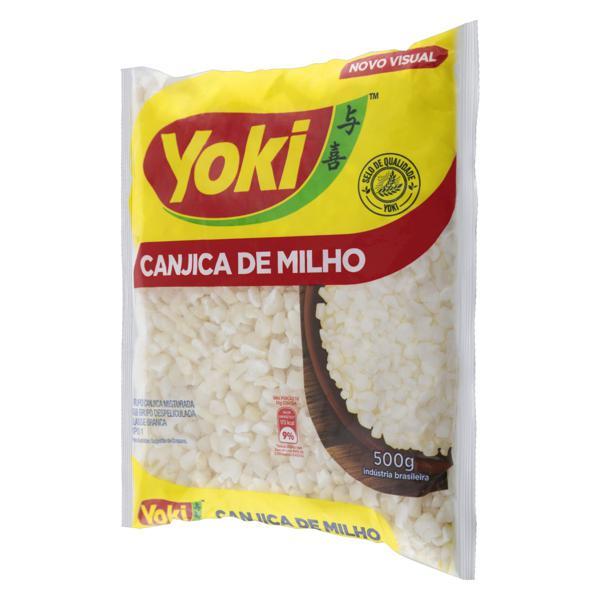 Canjica de Milho Branca Tipo 1 Yoki Pacote 500g