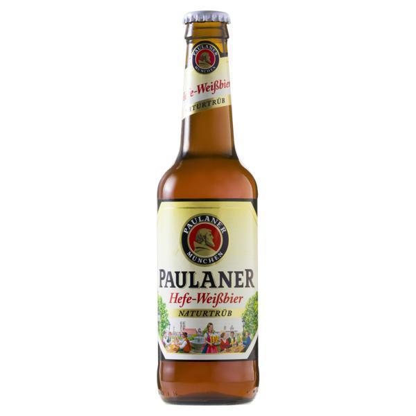 Cerveja Hefe-Weissbier Naturtrüb Paulaner Garrafa 330ml