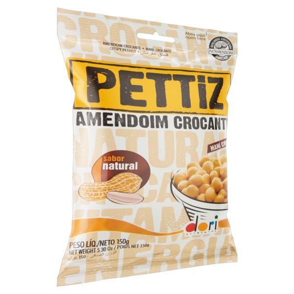 Amendoim Crocante Natural Dori Pettiz Pacote 150g
