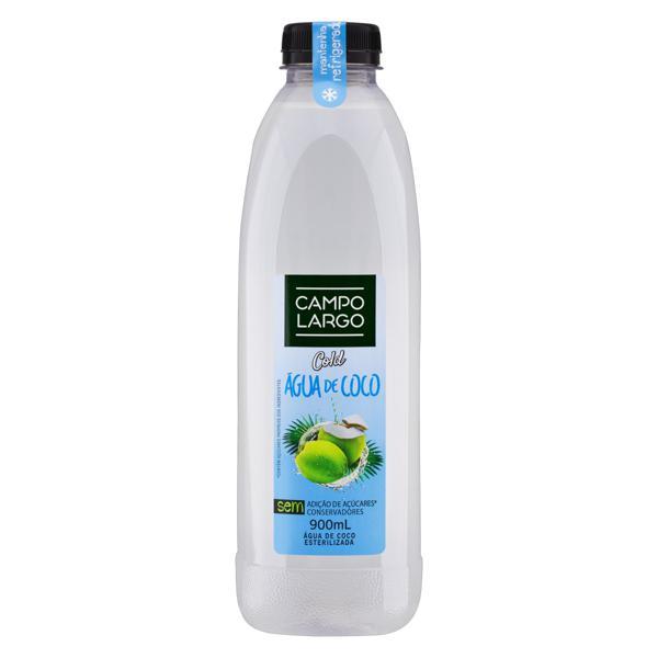Água de Coco Esterilizada Campo Largo Cold Garrafa 900ml