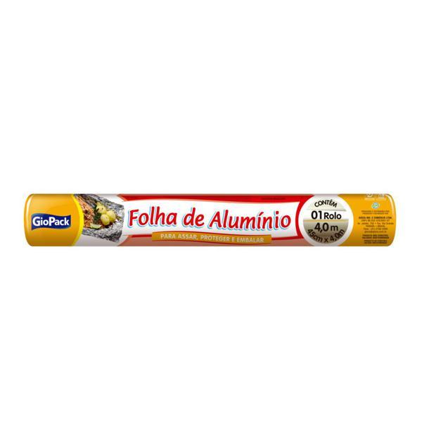 Papel Aluminio Giopack 45Cmx4M
