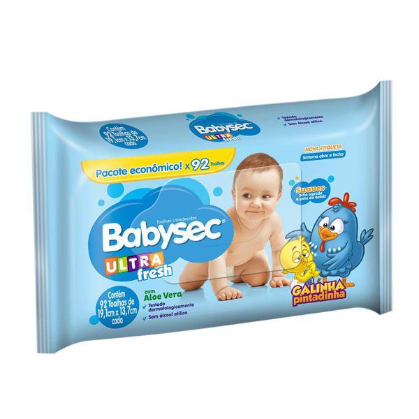 Lencos Umedecidos Babysec 92Un