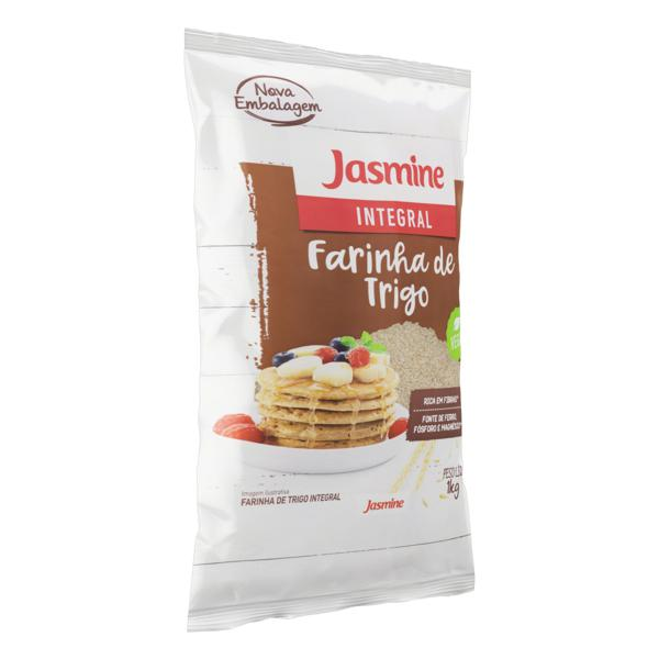 Farinha de Trigo Integral Jasmine Pacote 1kg