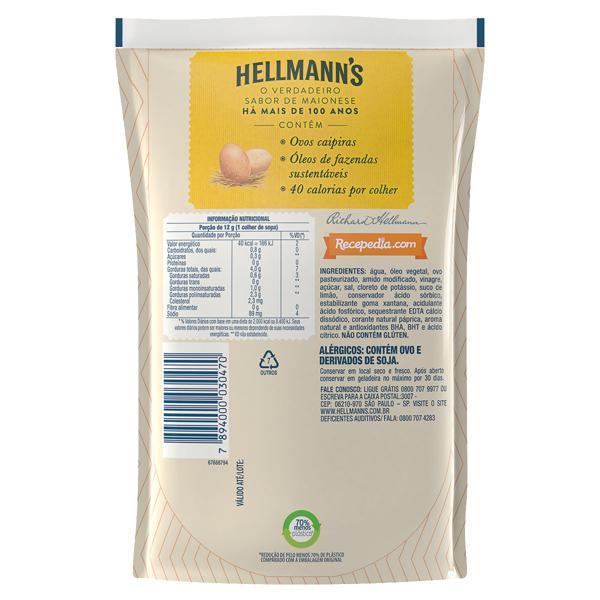 Maionese Hellmann's Sachê 200g Embalagem Econômica