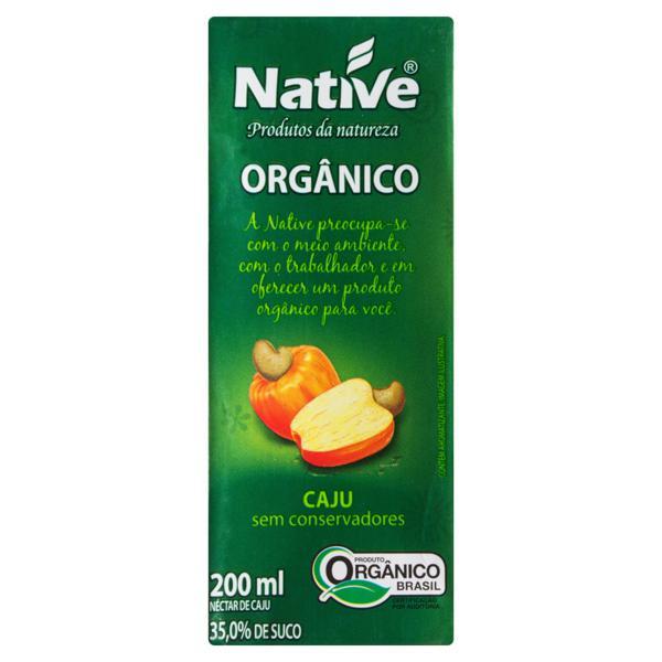 Néctar Orgânico Caju Native Caixa 200ml