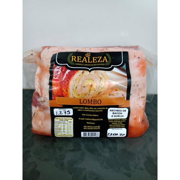 Lombo rechado bacon (aproximadamente 900g) - Realeza
