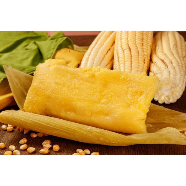 Pamonha salgada (und) - Vegana