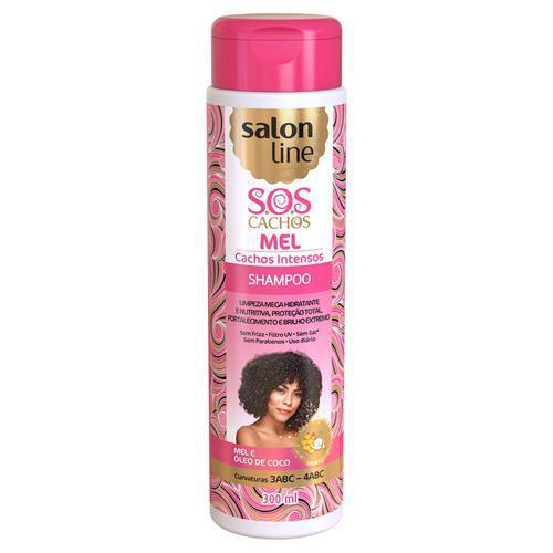 Shampoo Salon Line Sos Cachos Intensos 300Ml Mel/Ol.Coc