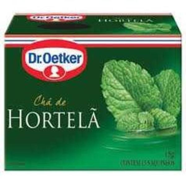 Chá DR. OETKER Hortelã 10g