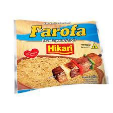 Farofa Temperada HIKARI 500g