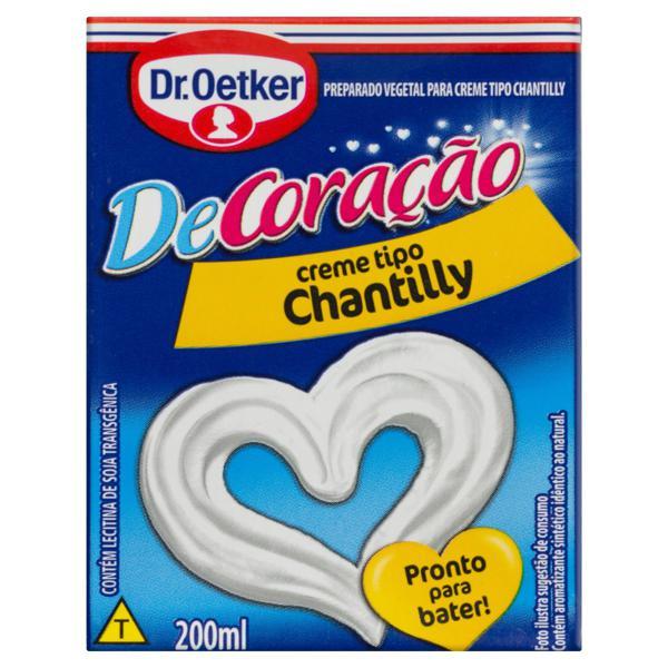 Creme Chantilly Dr. Oetker Decoração Caixa 200ml