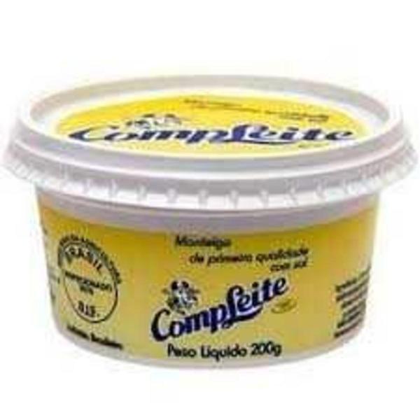 Manteiga Compleite 200G Com Sal