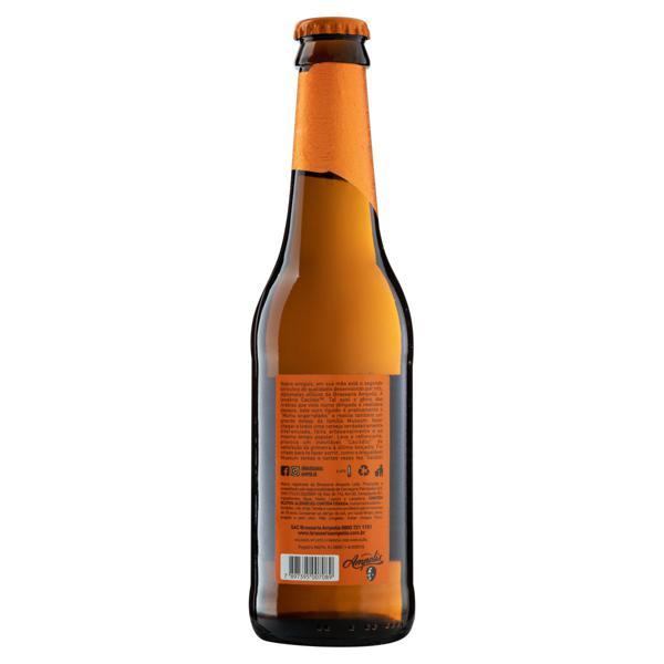 Cerveja Amber Lager Puro Malte Cacildis Garrafa 355ml