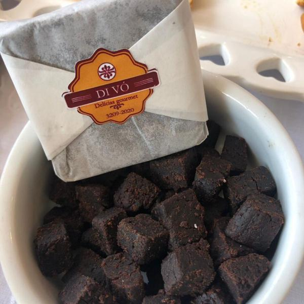 Bolo Prensado de Chocolate Belga 45g - Di Vó