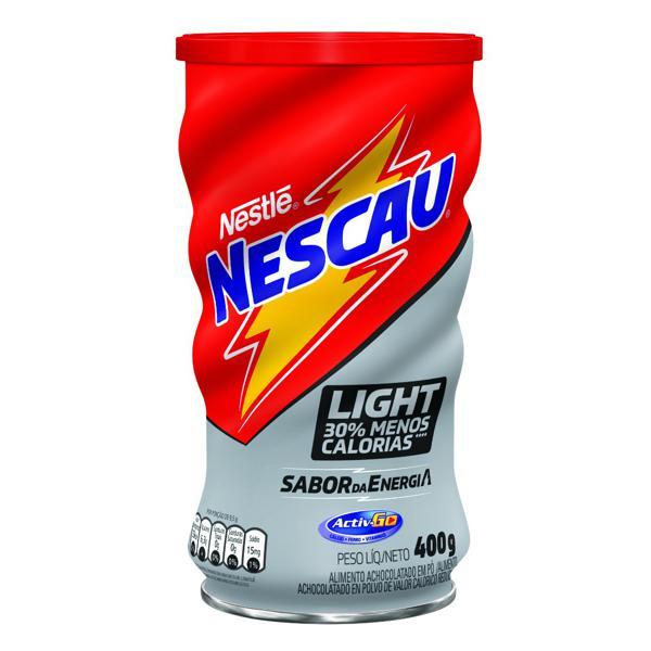 Achocolatado em Pó Light Nestlé Nescau Lata 400g