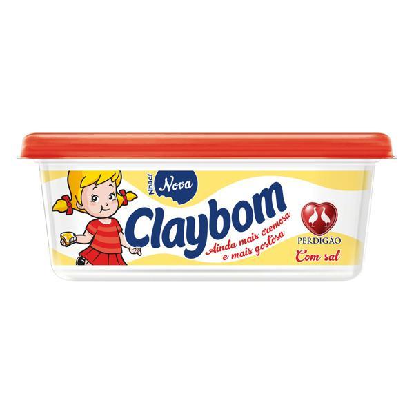 Margarina Cremosa com Sal Claybom Pote 250g