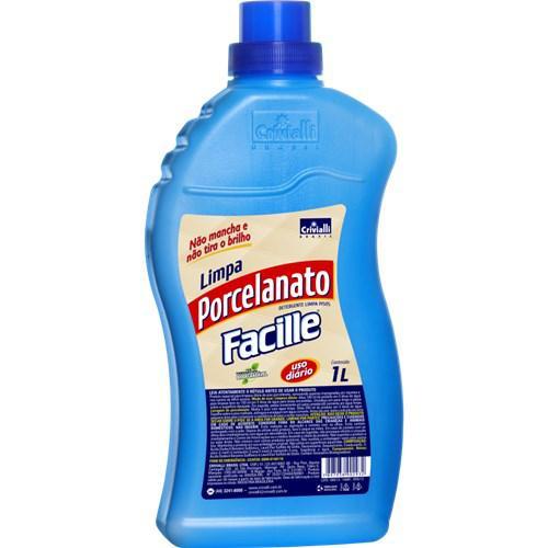 Limpa Porcelanato  Facille Azul 1L