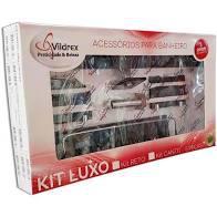 VIDREX Kit 5 Peças Reo Luxo Fume