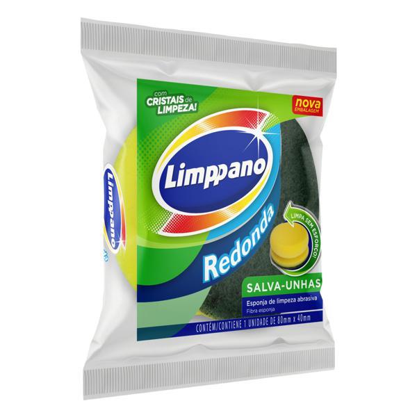 Esponja de Limpeza Salva-Unhas Redonda Limppano