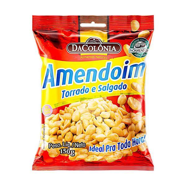 Amendoim Da Colonia 150G Salgado