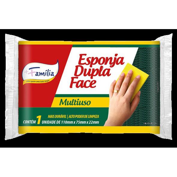 Esponja Dupla Face + Familia Und