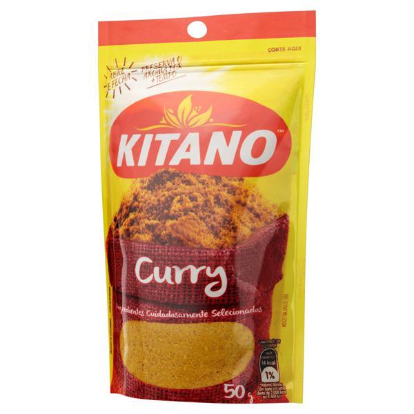 Curry Kitano Pacote 50g