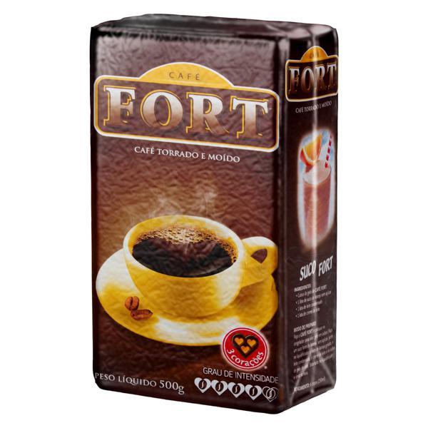 Café Torrado e Moído a Vácuo Fort Pacote 500g