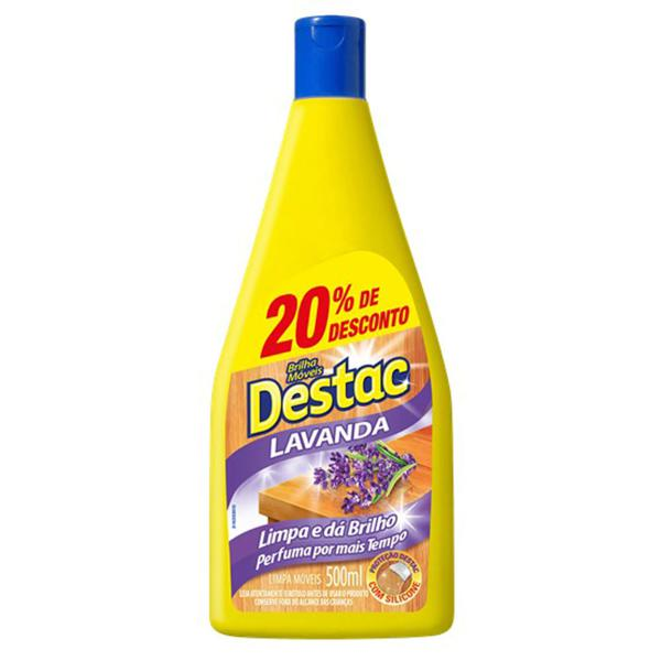 Lustra Móveis Destac 20%Off Lavanda 500ML